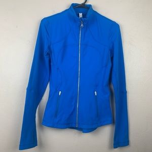 Lululemon Blue Zip Up Jacket Size 4